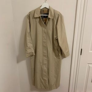 Burberry's Trench Coat Tan Beige Medium